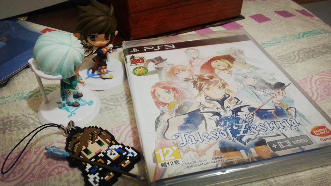 22 January 2015 日記 – TALES OF ZESTIRIA 入手~!!