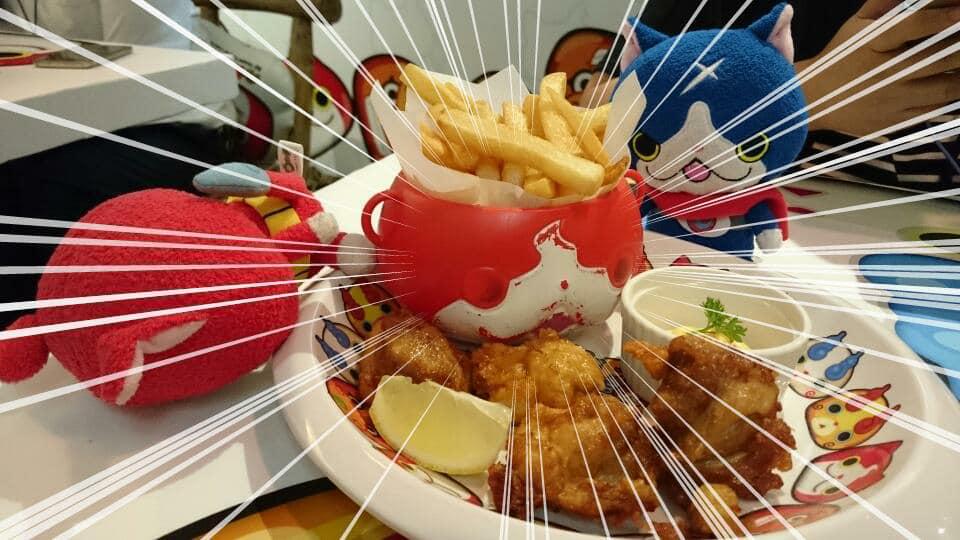 妖怪手錶 Puni Puni Café by Izumi Curry